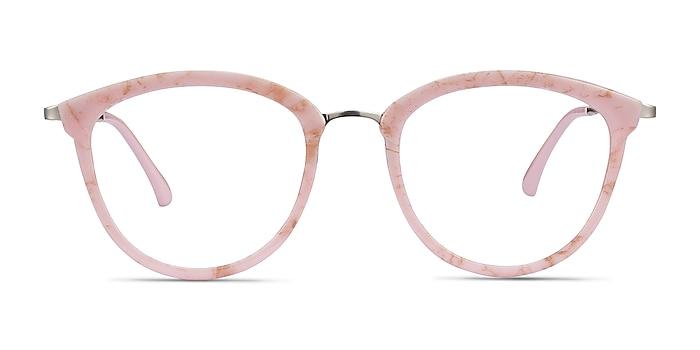Lightworks Pink Plastic-metal Eyeglass Frames from EyeBuyDirect