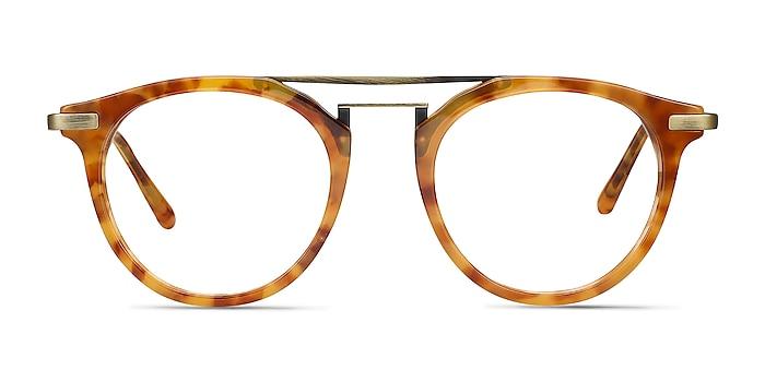 Alba Light Tortoise Acetate-metal Eyeglass Frames from EyeBuyDirect