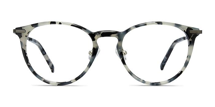 Iris Ivory Tortoise Acetate-metal Eyeglass Frames from EyeBuyDirect