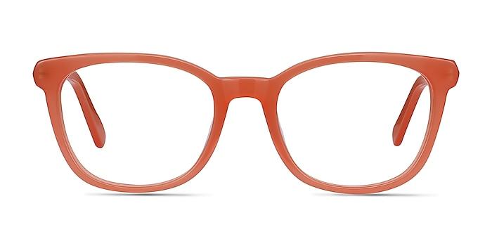 Kat Orange Acetate-metal Eyeglass Frames from EyeBuyDirect