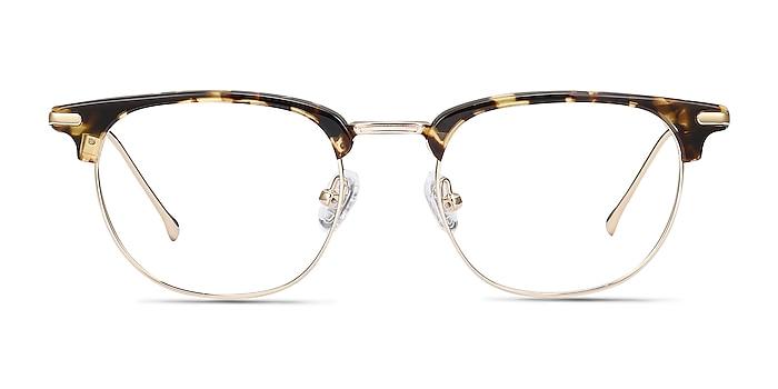 Relive Tortoise Golden Acetate-metal Montures de lunettes de vue d'EyeBuyDirect