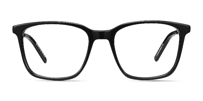 Morrow Black Acetate-metal Eyeglass Frames from EyeBuyDirect