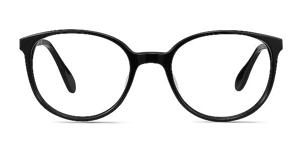 Lucy Black Acetate-metal Eyeglass Frames