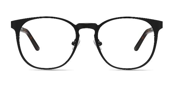 Resonance Black Acetate-metal Eyeglass Frames