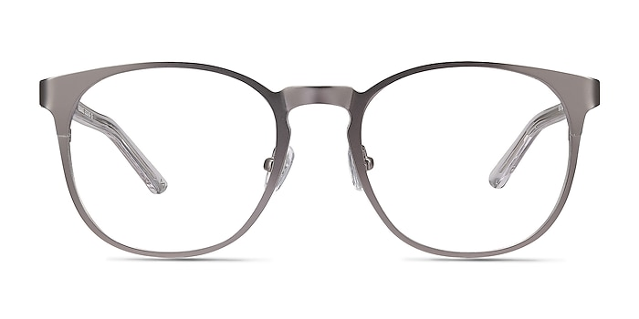 Resonance Gunmetal Acetate-metal Eyeglass Frames from EyeBuyDirect