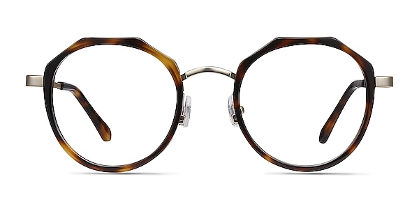 Accent Tortoise Acetate-metal Eyeglass Frames