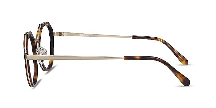 Accent Tortoise Acetate-metal Eyeglass Frames from EyeBuyDirect