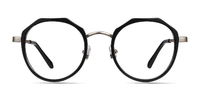 Accent Black Acetate-metal Eyeglass Frames from EyeBuyDirect