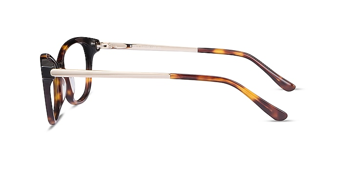 Ripple Tortoise Acetate-metal Eyeglass Frames from EyeBuyDirect