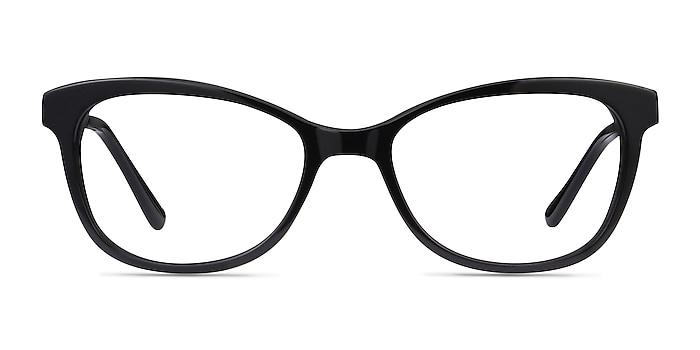 Ripple Black Acetate-metal Eyeglass Frames from EyeBuyDirect