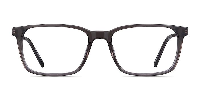 Stanza Gray Acetate-metal Eyeglass Frames from EyeBuyDirect