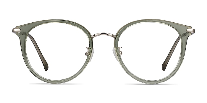 Hollie Vert Plastic-metal Montures de lunettes de vue d'EyeBuyDirect
