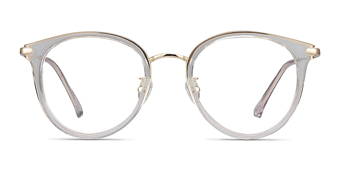 Hollie Transparence Plastic-metal Montures de lunettes de vue d'EyeBuyDirect