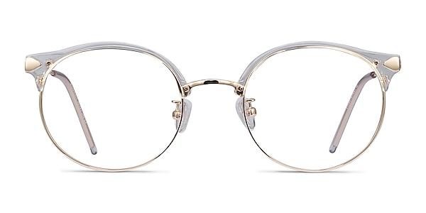 Moon River Clear Plastic-metal Eyeglass Frames