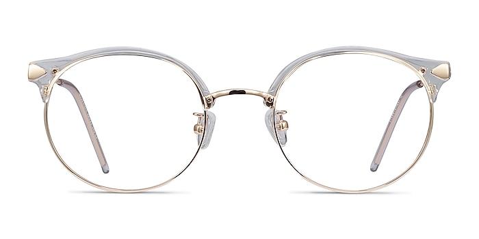 Moon River Transparence Plastic-metal Montures de lunettes de vue d'EyeBuyDirect