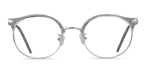 Moon River Clear Green Plastic-metal Eyeglass Frames