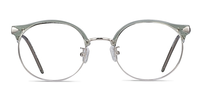 Moon River Clear Green Plastic-metal Montures de lunettes de vue d'EyeBuyDirect
