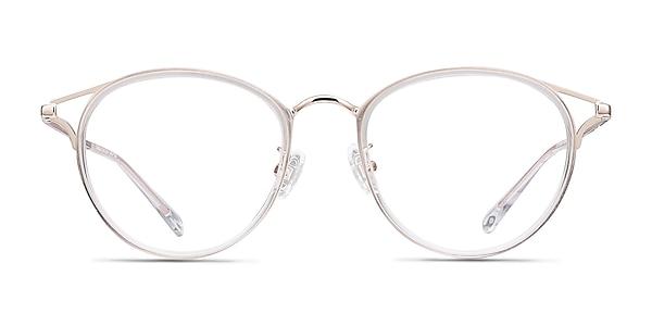 Dazzle Clear Acetate-metal Eyeglass Frames