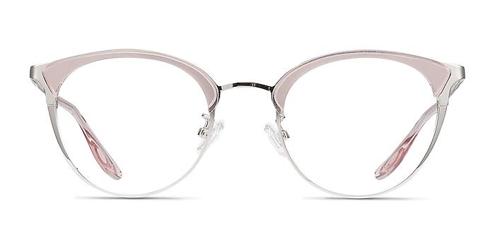 Bouquet Pink Silver Acetate-metal Montures de lunettes de vue d'EyeBuyDirect