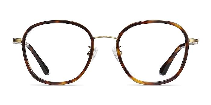 Beyond  Tortoise Acetate-metal Eyeglass Frames from EyeBuyDirect