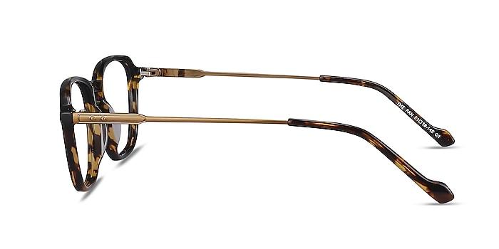 The Fan Tortoise Acetate-metal Eyeglass Frames from EyeBuyDirect