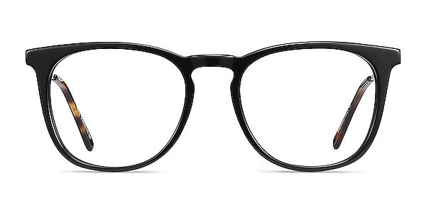 Vinyl Noir Acetate-metal Montures de lunettes de vue