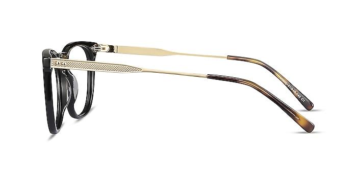 Vinyl Black Acetate-metal Eyeglass Frames from EyeBuyDirect