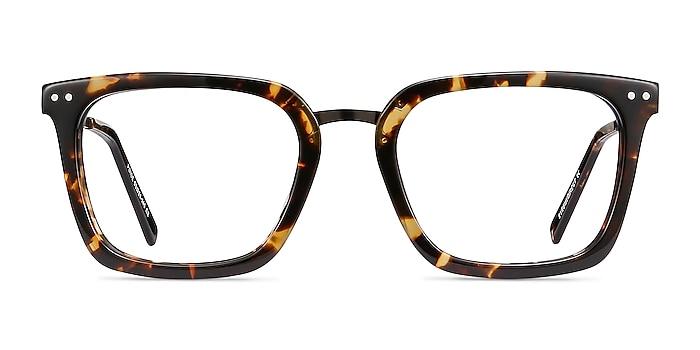 Poise Tortoise Acetate-metal Eyeglass Frames from EyeBuyDirect
