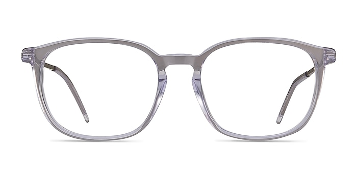 Esquire Clear Acetate-metal Eyeglass Frames from EyeBuyDirect
