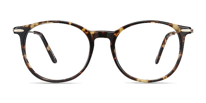 Quill Tortoise Acetate-metal Eyeglass Frames from EyeBuyDirect