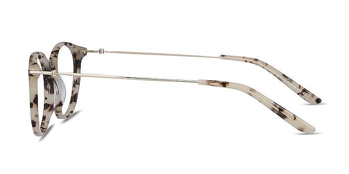 Quill Ivory Tortoise Acetate-metal Eyeglass Frames from EyeBuyDirect