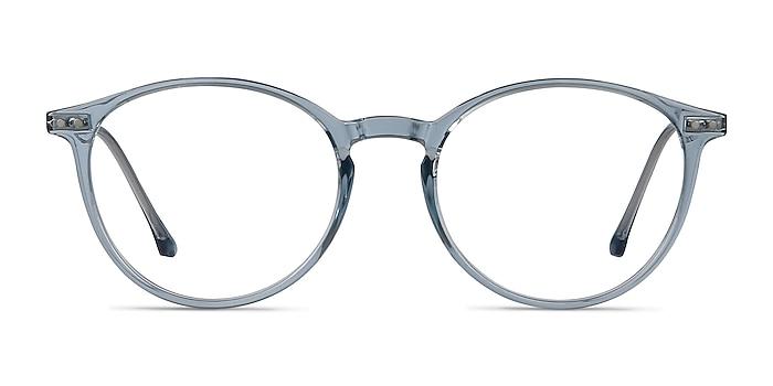 Amity Blue Plastic-metal Eyeglass Frames from EyeBuyDirect