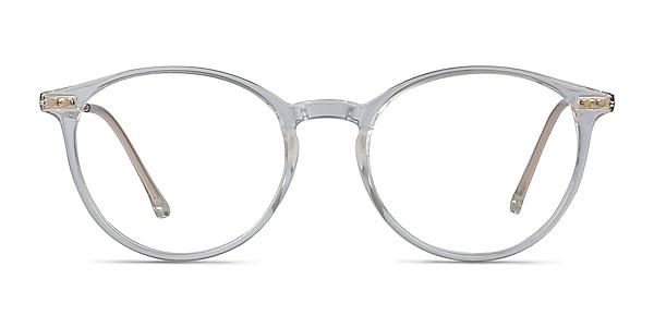 Amity Transparent Plastic-metal Montures de lunettes de vue