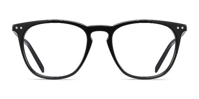 Distance Black Acetate-metal Eyeglass Frames from EyeBuyDirect