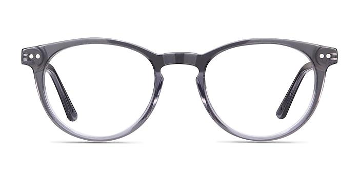 Traveller Gris Acetate-metal Montures de lunettes de vue d'EyeBuyDirect