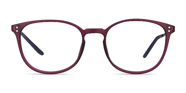 Spoken Purple Metal Eyeglass Frames