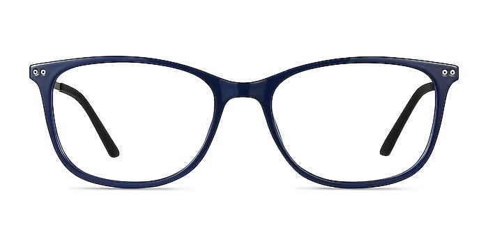Clarity Blue Plastic-metal Eyeglass Frames from EyeBuyDirect