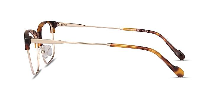 Explorer Tortoise Acetate-metal Eyeglass Frames from EyeBuyDirect