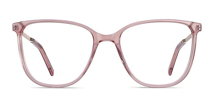 Aroma Pink Acetate-metal Eyeglass Frames from EyeBuyDirect