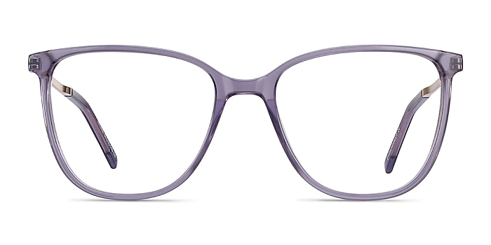 Aroma Purple Acetate-metal Eyeglass Frames from EyeBuyDirect