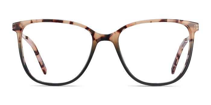 Aroma Tortoise Green Acetate-metal Montures de lunettes de vue d'EyeBuyDirect