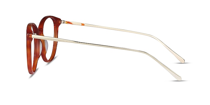 Oriana Orange Acetate-metal Montures de lunettes de vue d'EyeBuyDirect