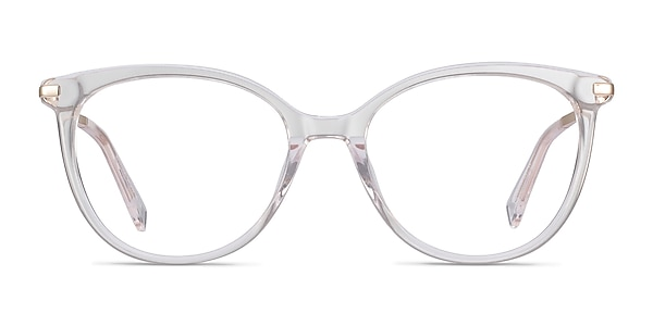 Attitude Clear Acetate-metal Eyeglass Frames