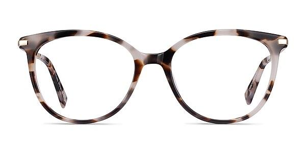 Attitude Ivory Tortoise Acetate-metal Eyeglass Frames