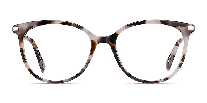 Attitude Ivory Tortoise Acetate-metal Eyeglass Frames from EyeBuyDirect