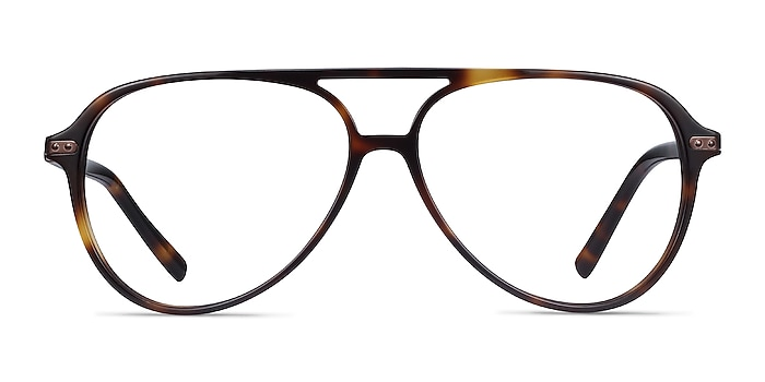 Viento Warm Tortoise Acetate Eyeglass Frames from EyeBuyDirect