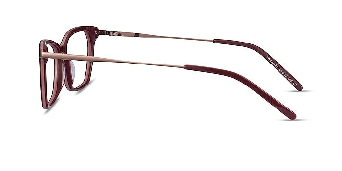 Forward Burgundy Acetate-metal Eyeglass Frames from EyeBuyDirect