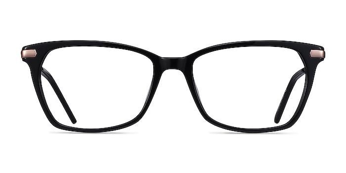 Forward Black Acetate-metal Eyeglass Frames from EyeBuyDirect