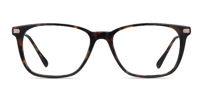 Plaza Écailles Acetate-metal Montures de lunettes de vue d'EyeBuyDirect