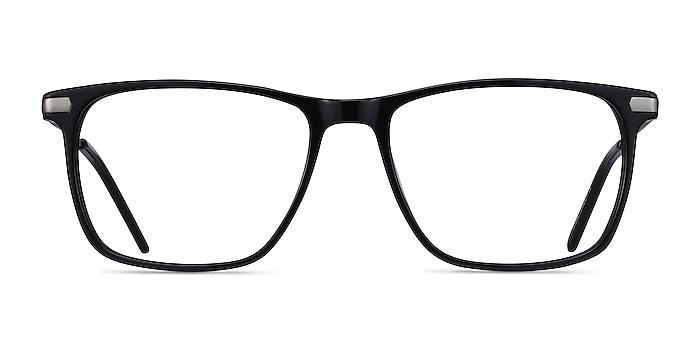 Envision Black Acetate-metal Eyeglass Frames from EyeBuyDirect